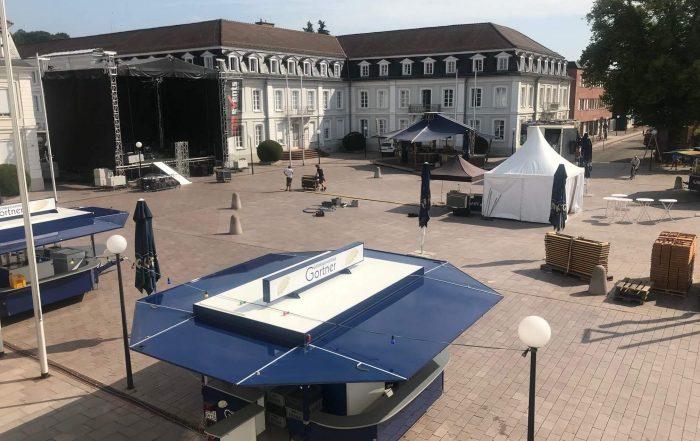 Bühne Herzogplatz Stadtfest Zweibrücken